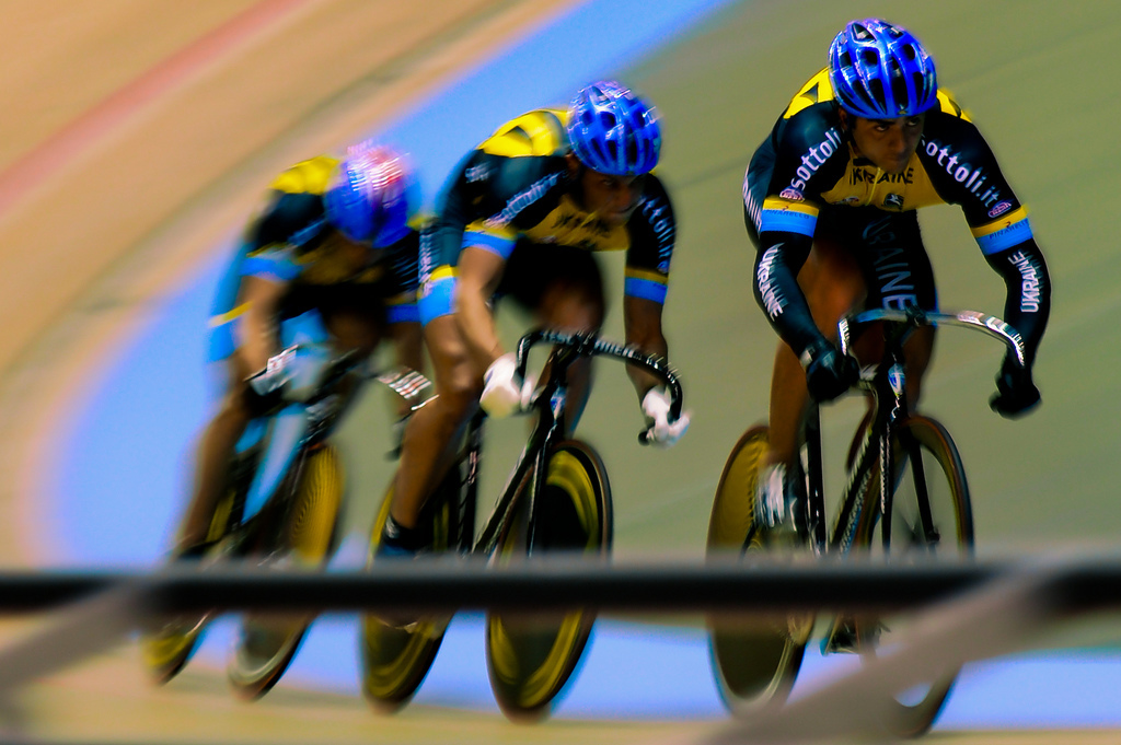Sports motion blur cycling HD Wallpaper