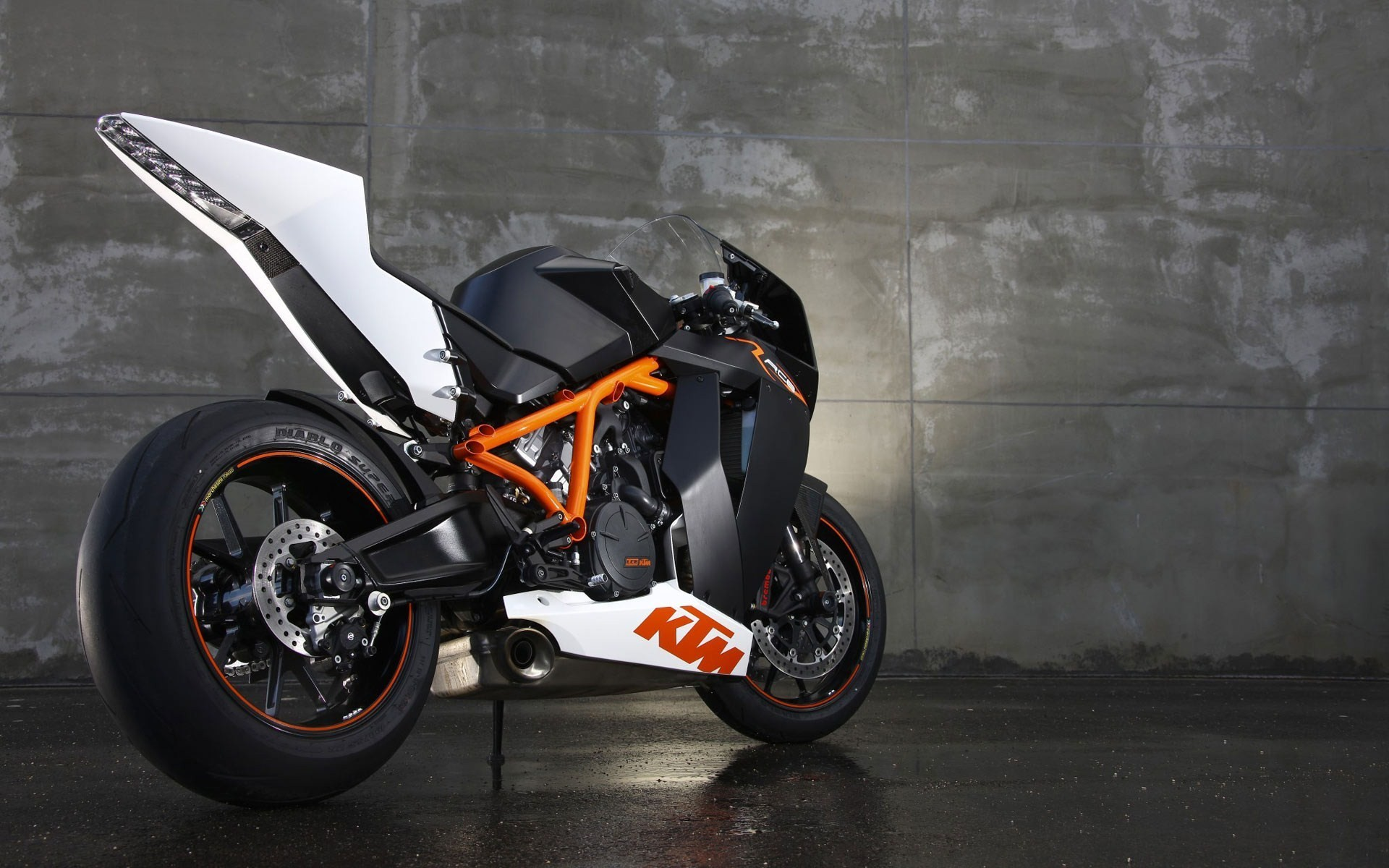 Sports Motorcycles bike KTM KTM RC8 1190 HD Wallpaper