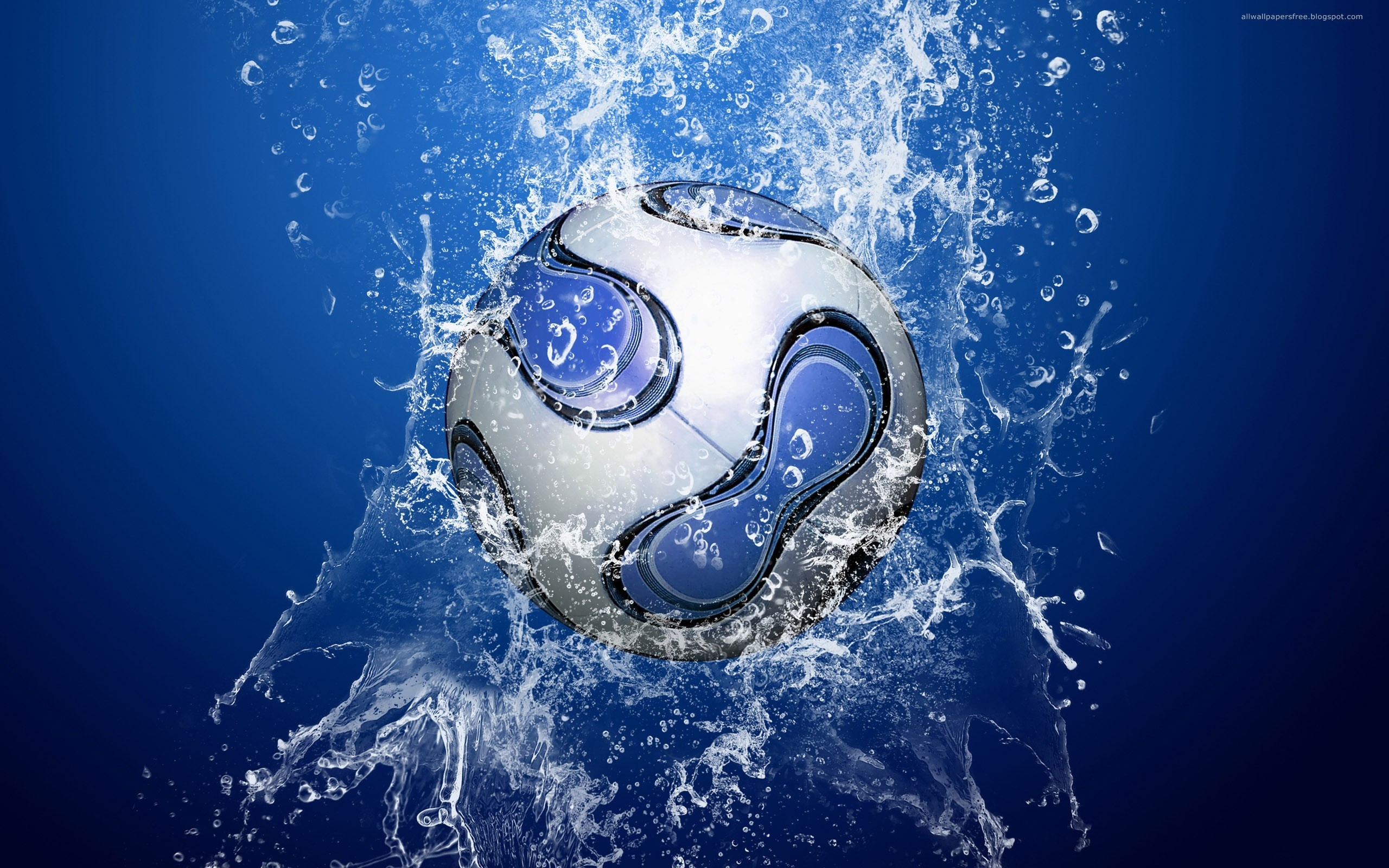 Sports soccer balls HD Wallpaper