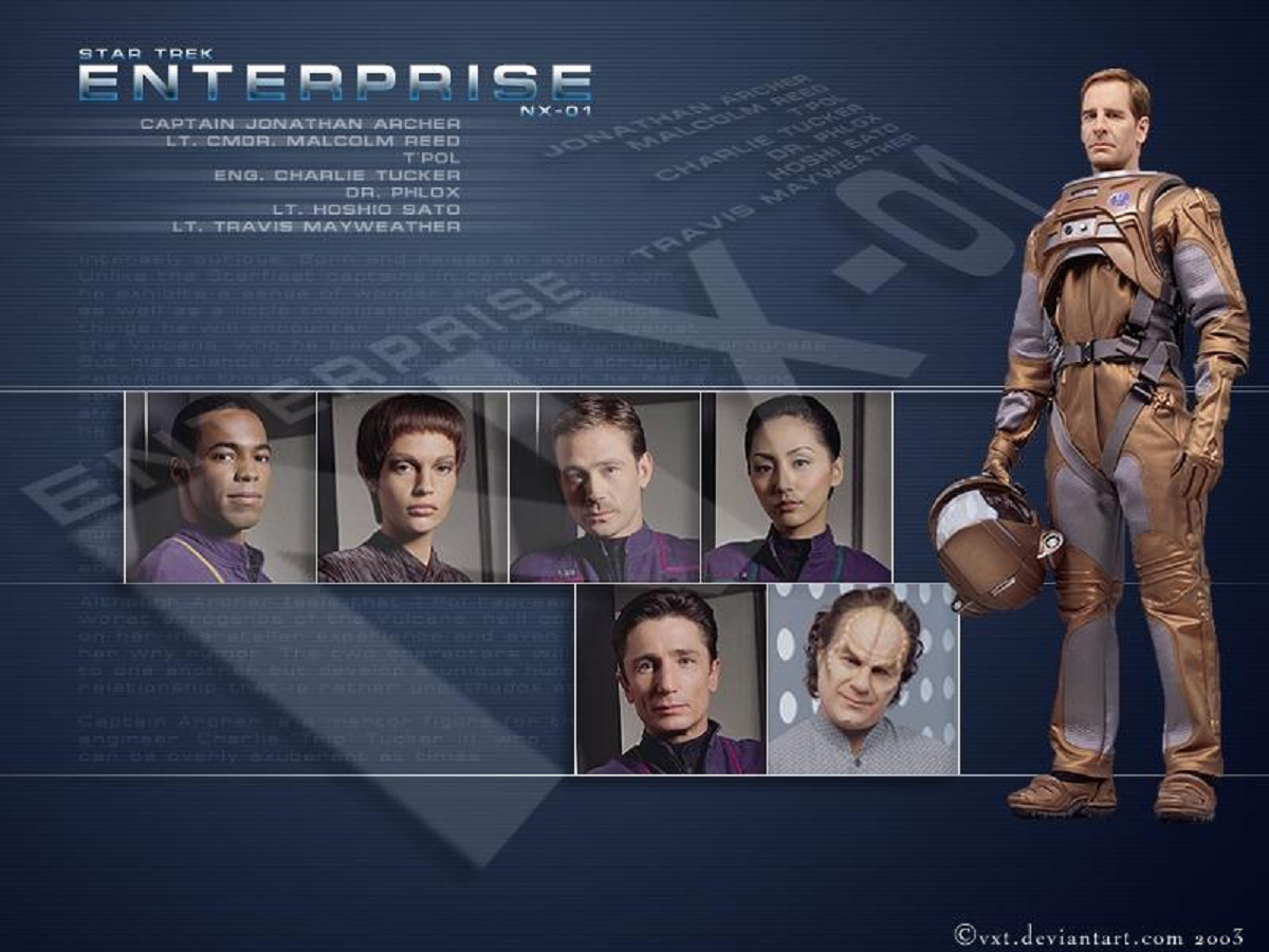 star Trek Enterprise best HD Wallpaper