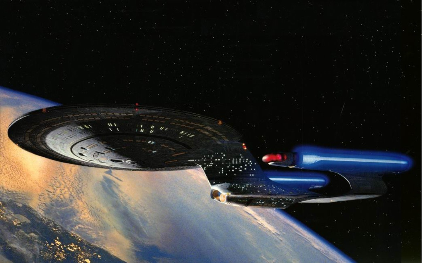 star Trek uss Enterprise HD Wallpaper