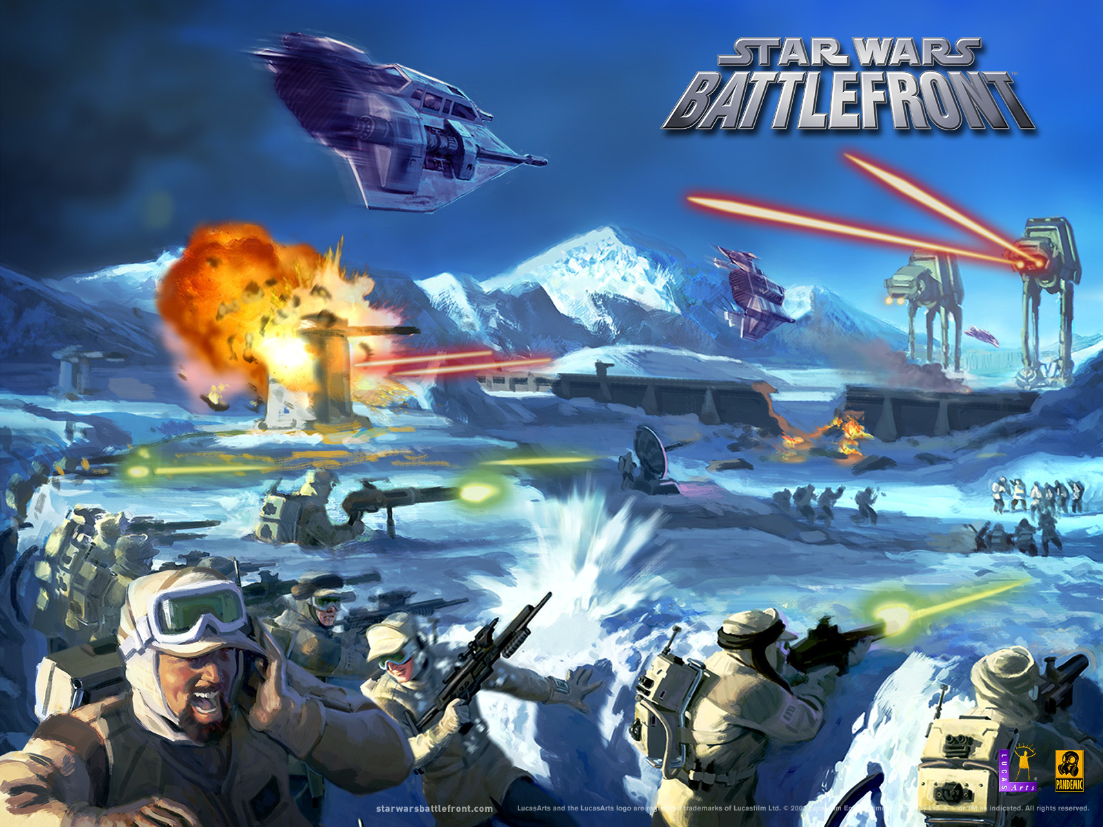 star wars battlefront video HD Wallpaper