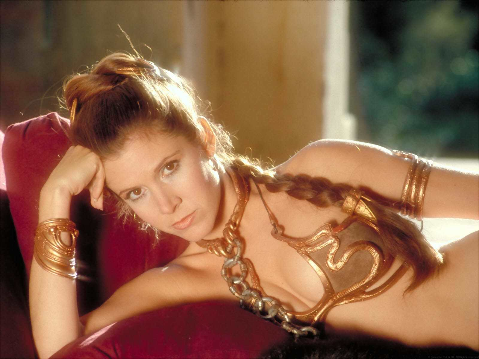 star wars Carrie Fisher HD Wallpaper
