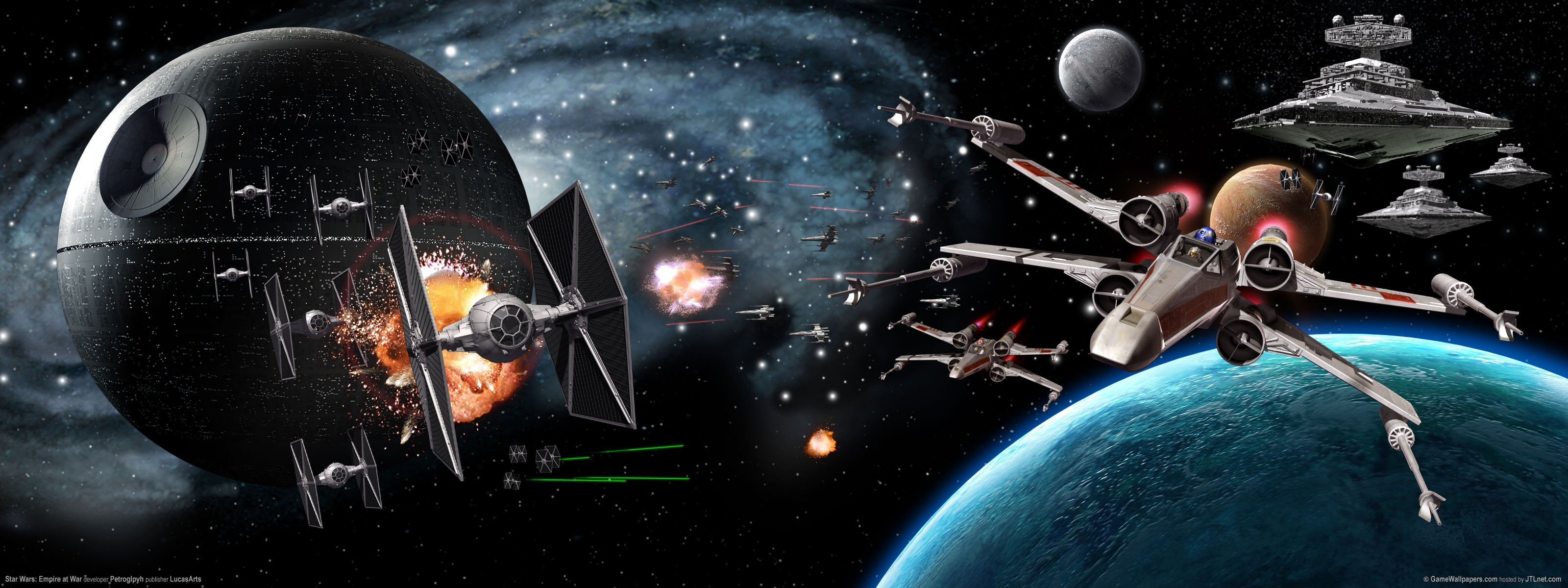 star wars Death Star HD Wallpaper