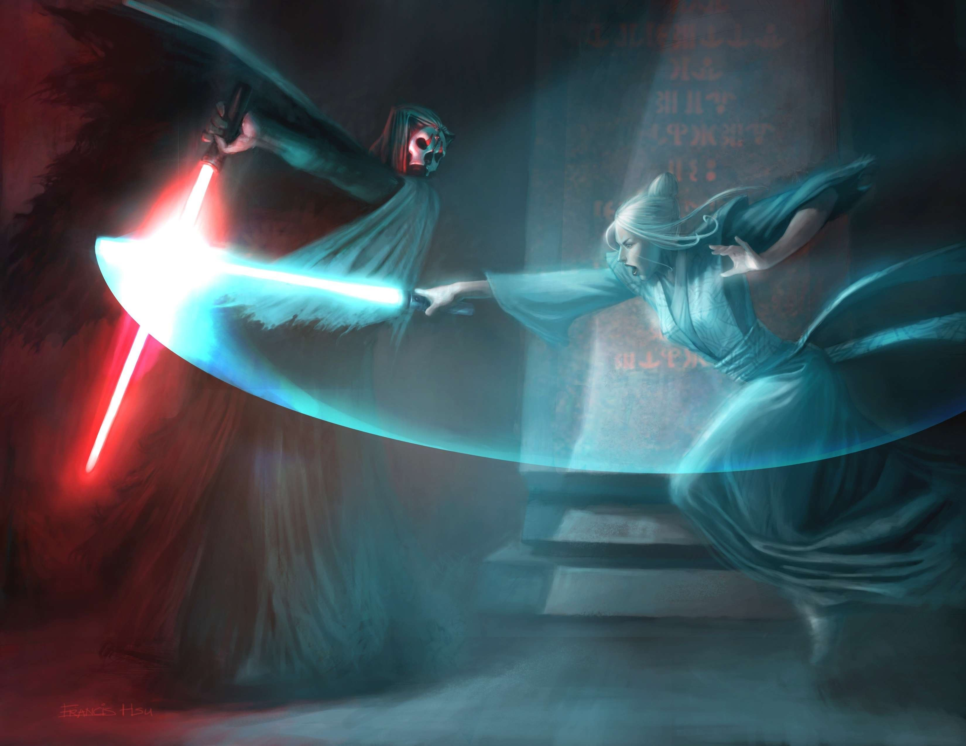 star wars duel duel HD Wallpaper