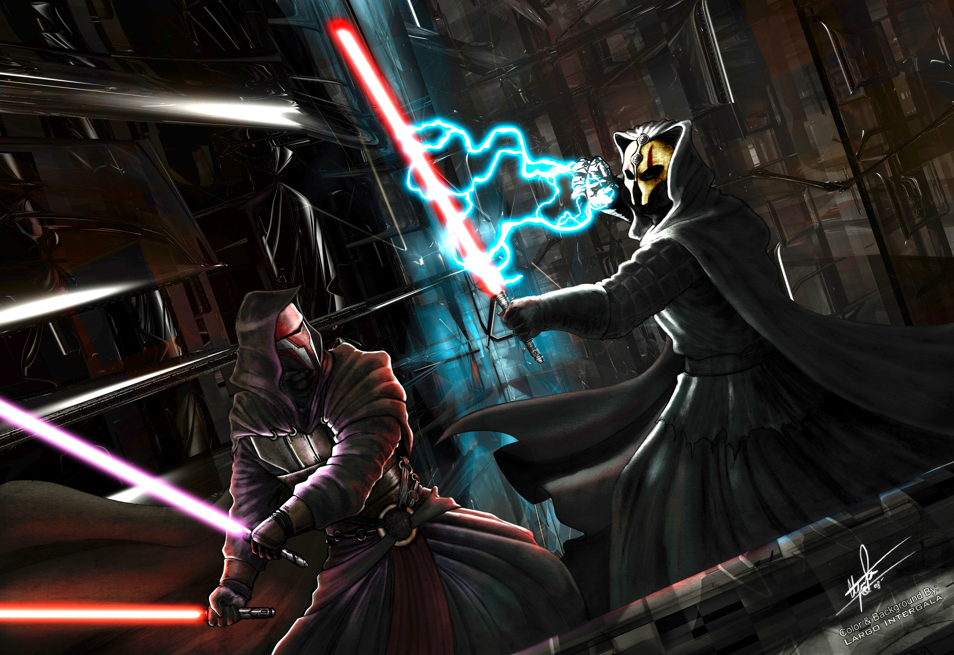 star wars lightsabers Darth