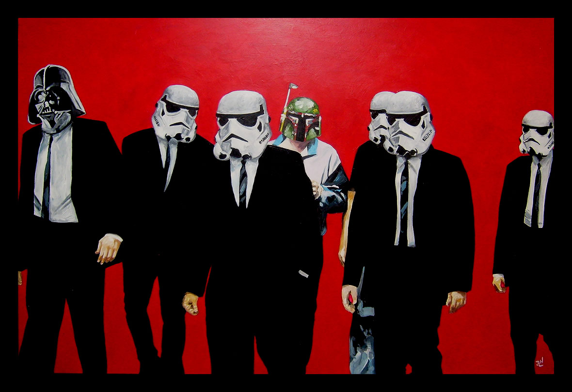 star wars Reservoir Dogs HD Wallpaper