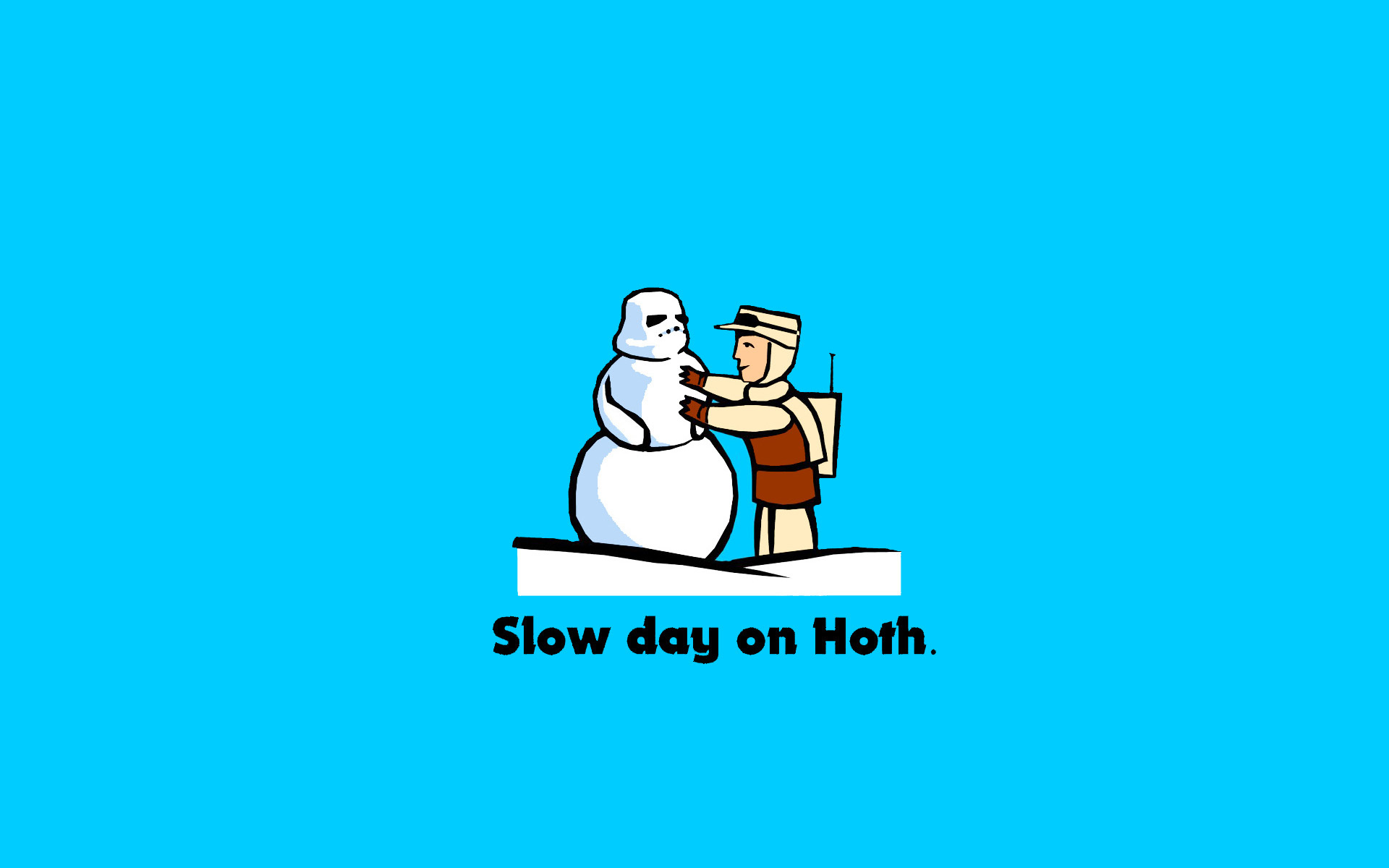 star wars slow Hoth HD Wallpaper