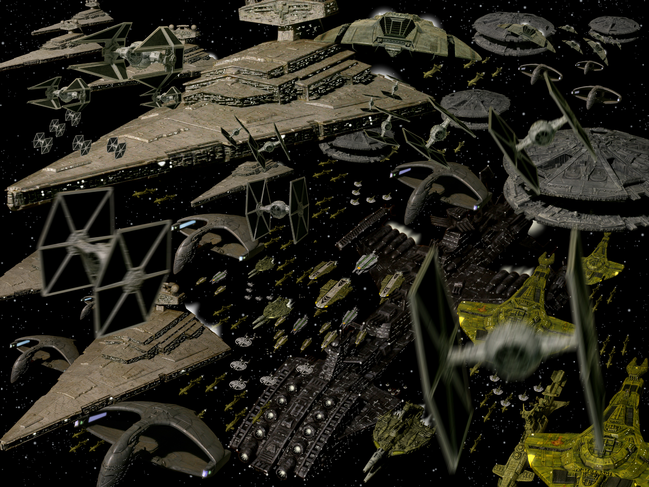 star wars spaceships vehicles HD Wallpaper
