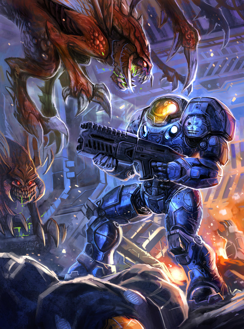 starcraft futuristic Zerg US HD Wallpaper