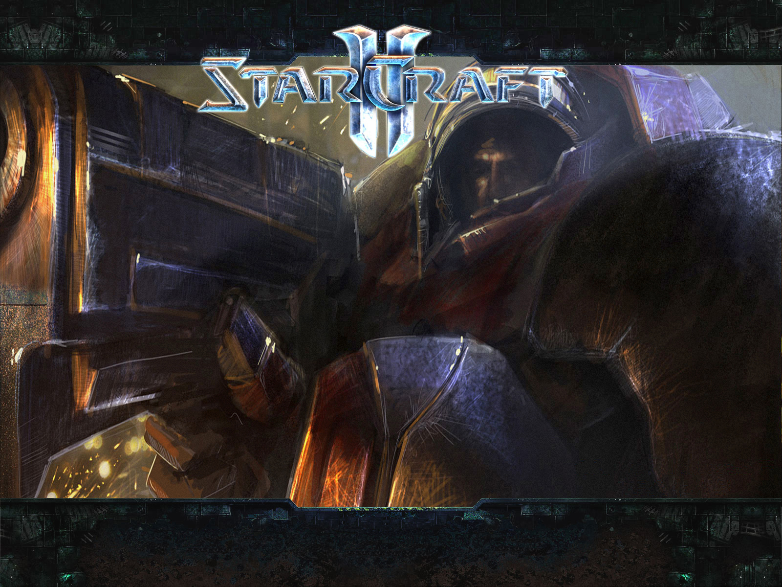 starcraft II Terran by HD Wallpaper