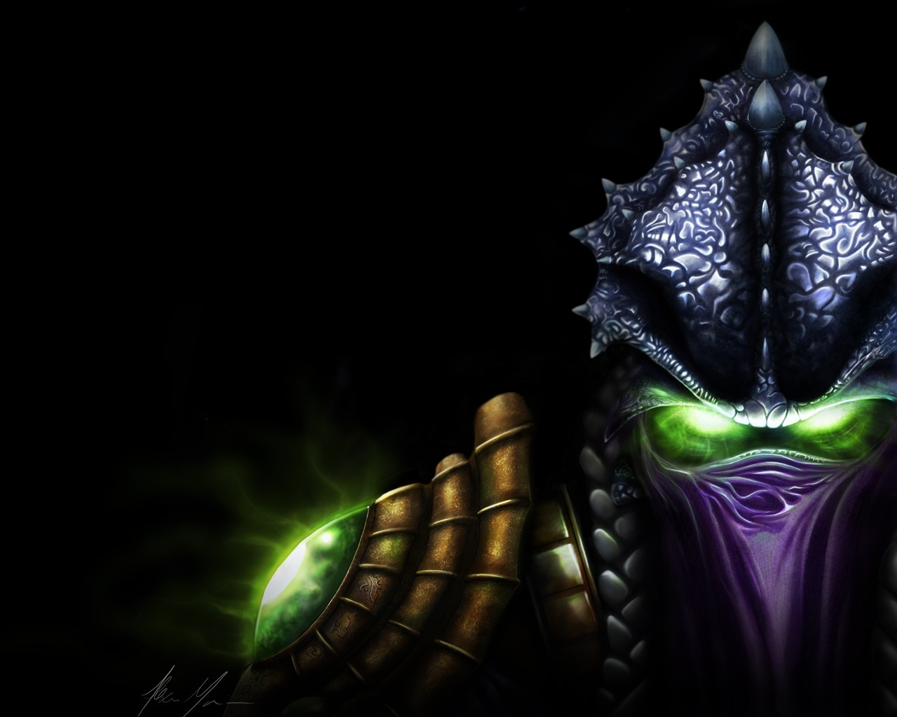 starcraft Protoss Dark Templar HD Wallpaper
