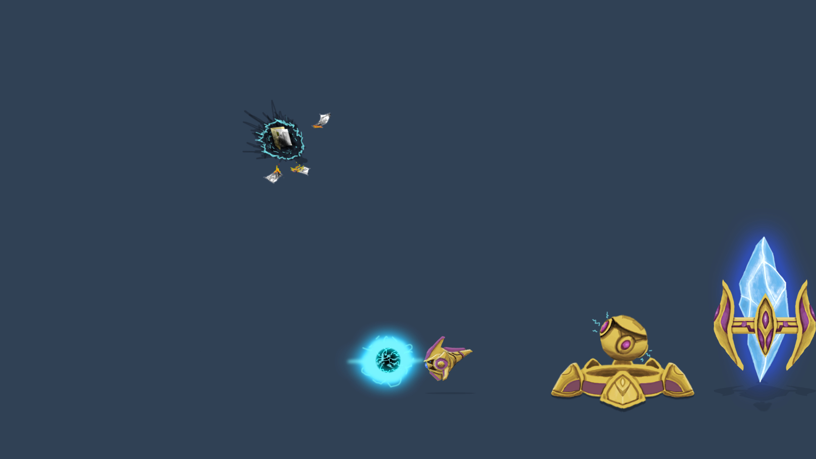 starcraft Protoss photon cannon HD Wallpaper