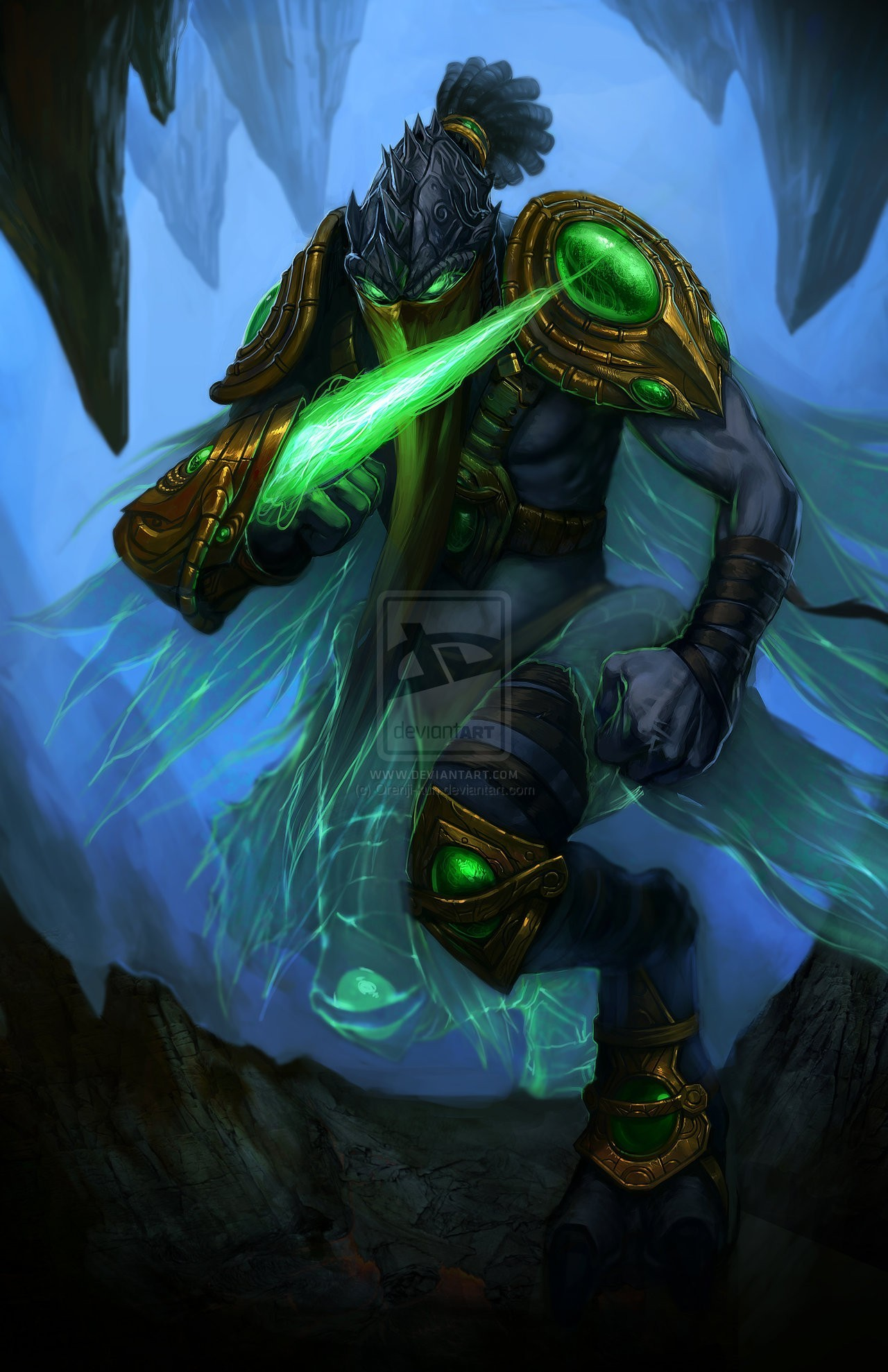 starcraft starcraft ii zeratul HD Wallpaper