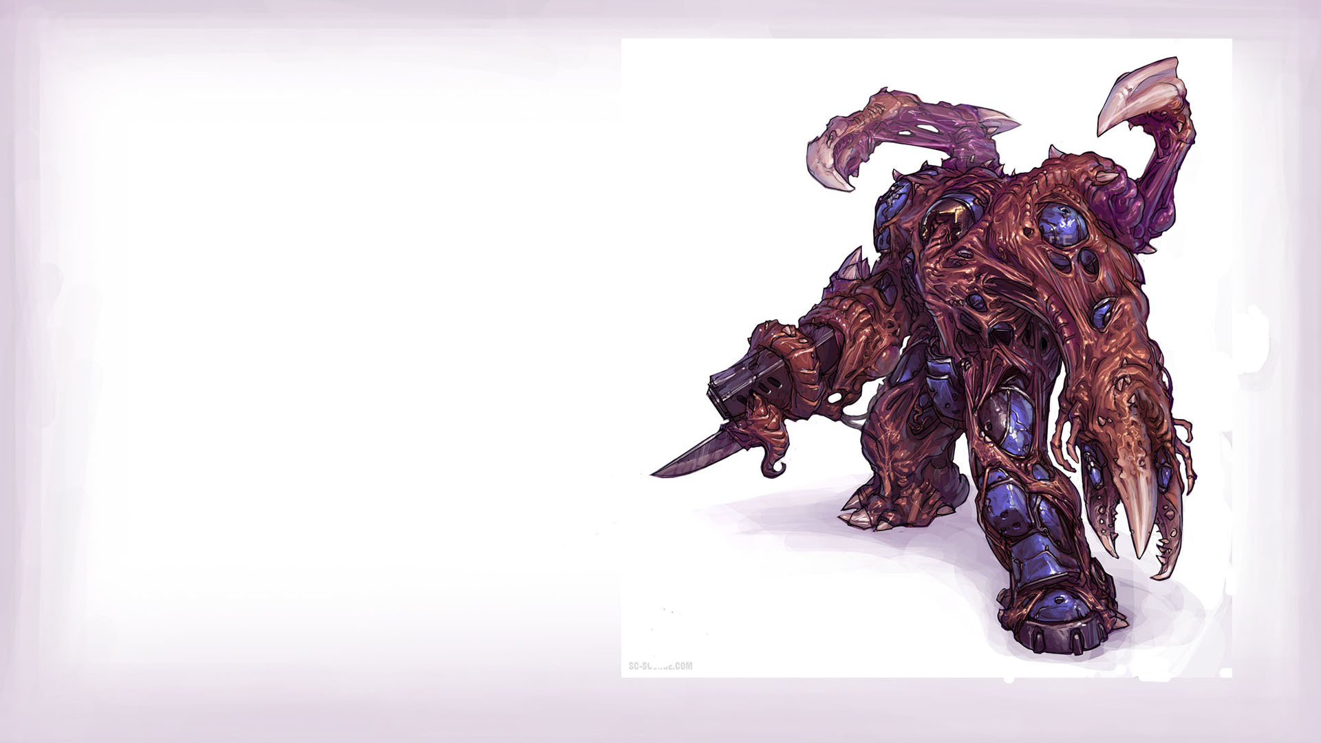 starcraft Zerg Terran game HD Wallpaper