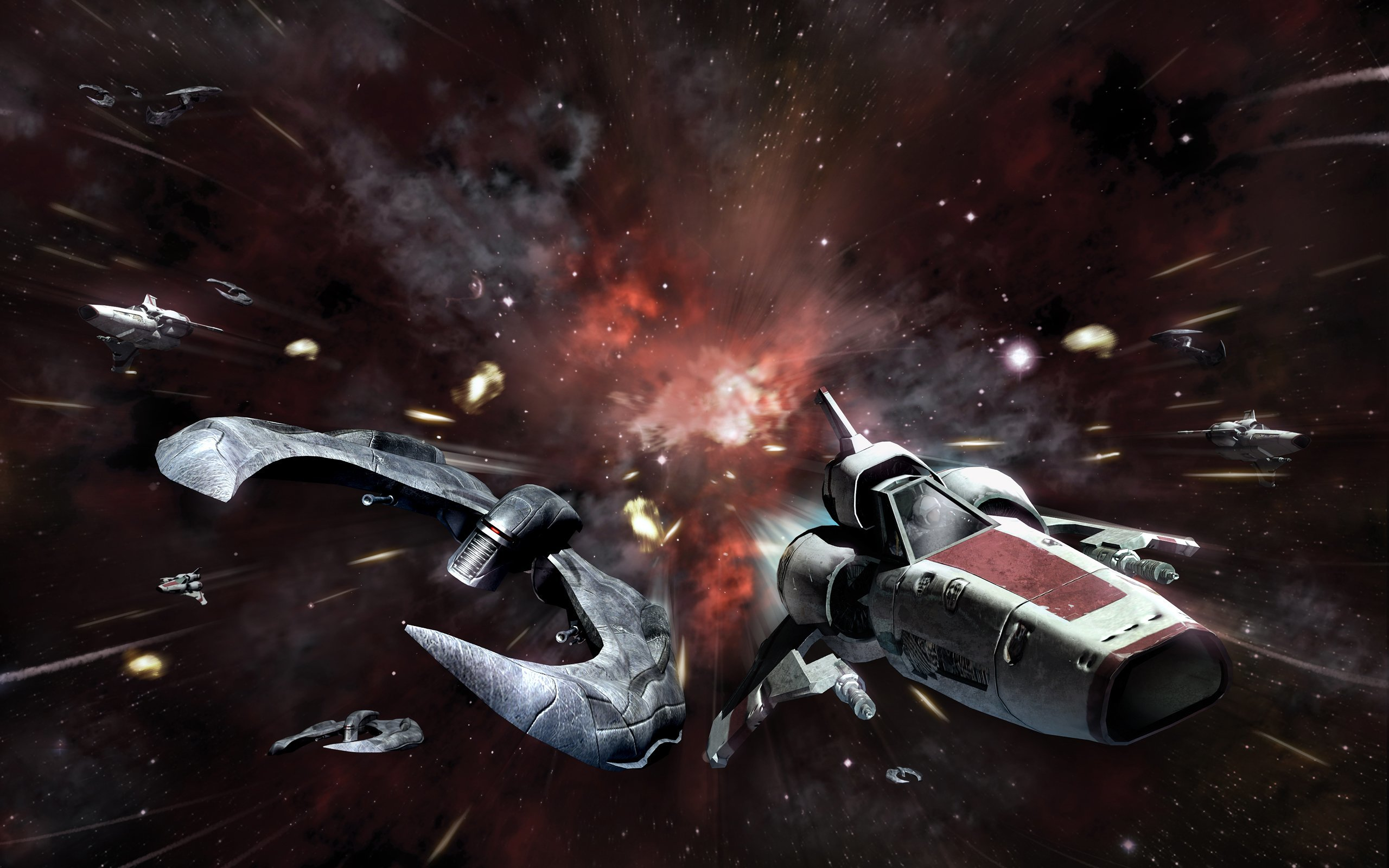 Stars battlestar galactica Viper HD Wallpaper
