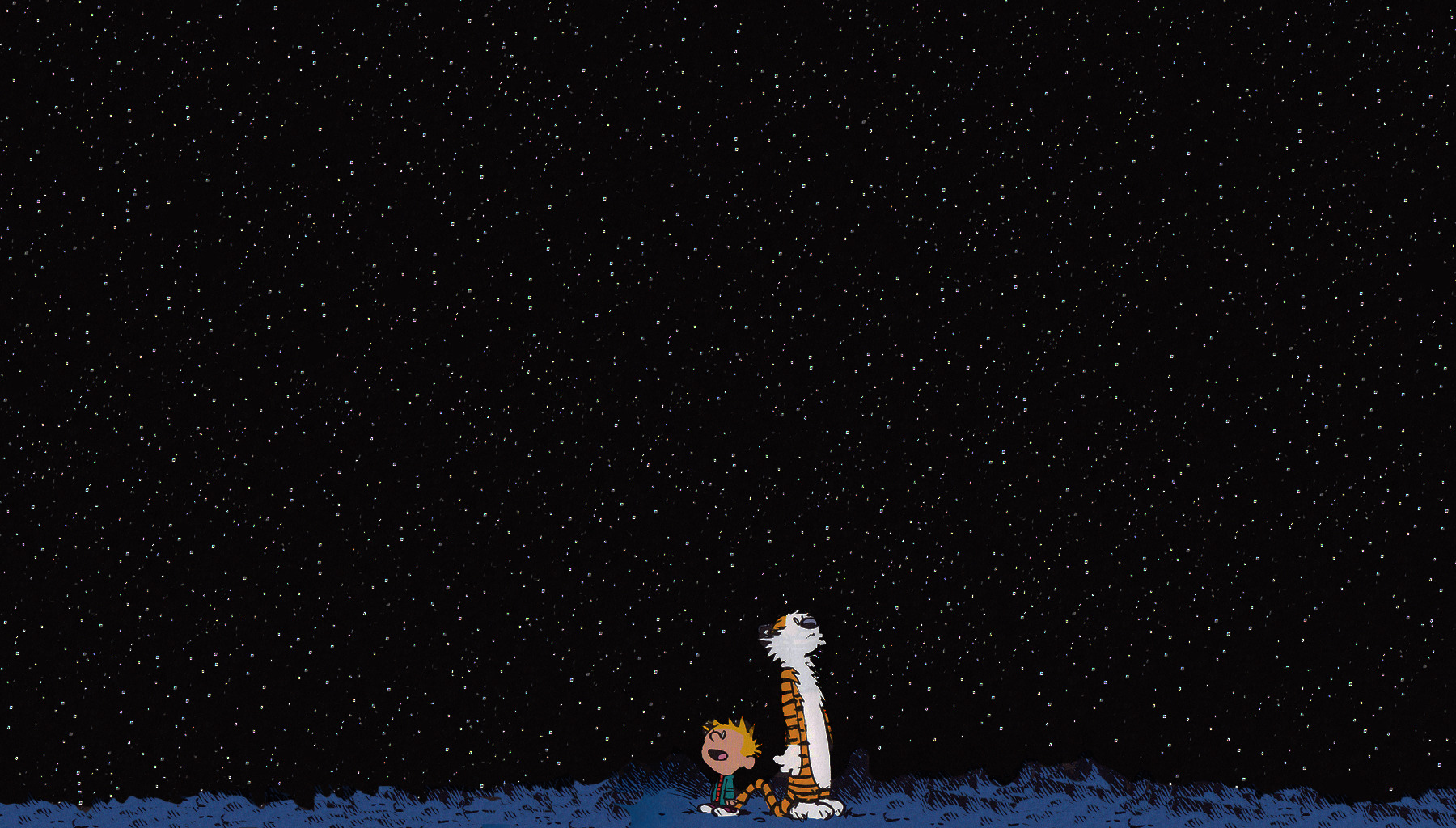 Stars Calvin Hobbes and