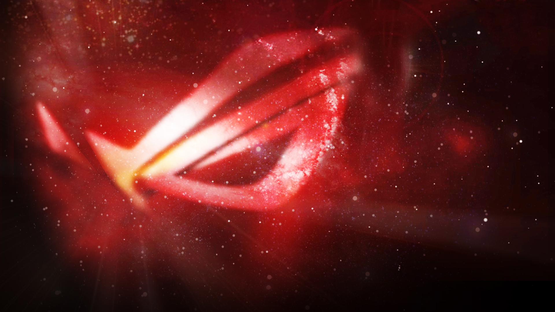 Stars nebulae asus ROG HD Wallpaper