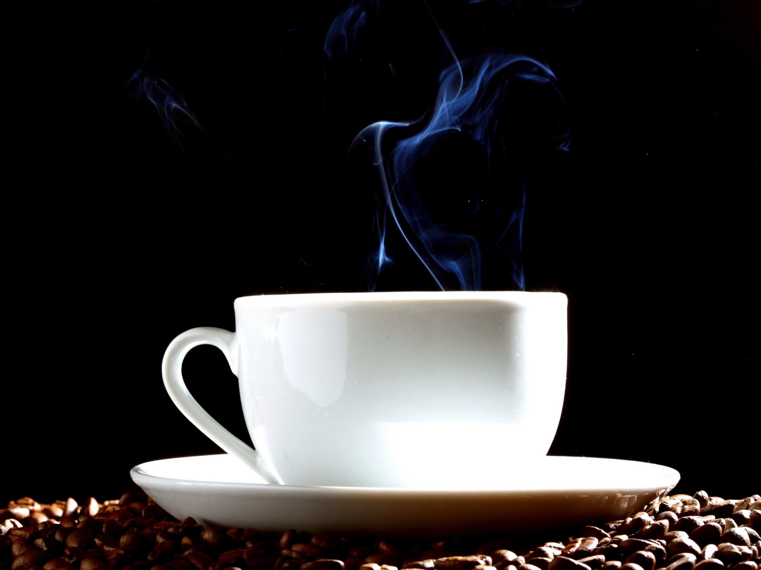 steam Coffee Beans coffee HD Wallpaper