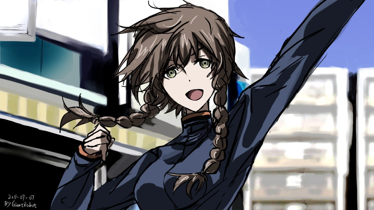 steins gate Amane Suzuha HD Wallpaper