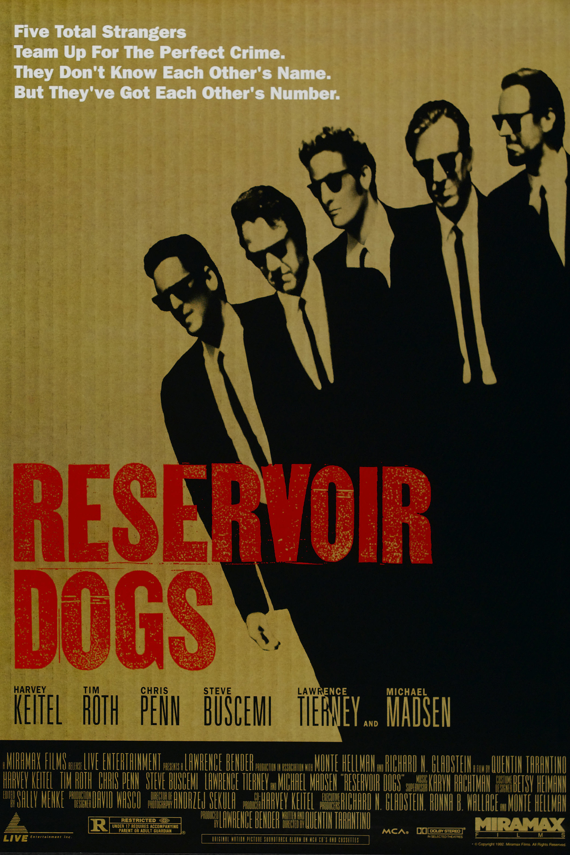 steve buscemi Reservoir Dogs HD Wallpaper