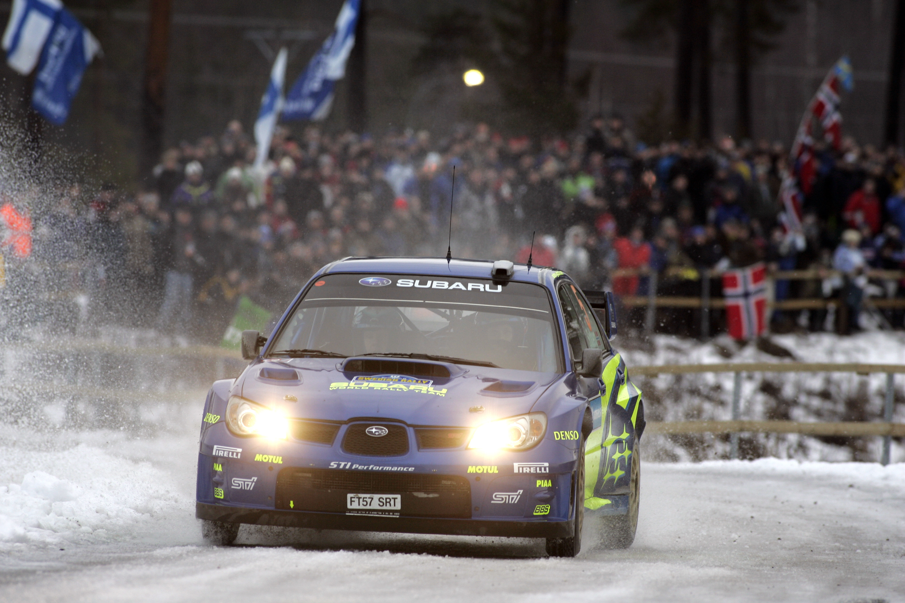Sti Impreza Wrx wrc HD Wallpaper