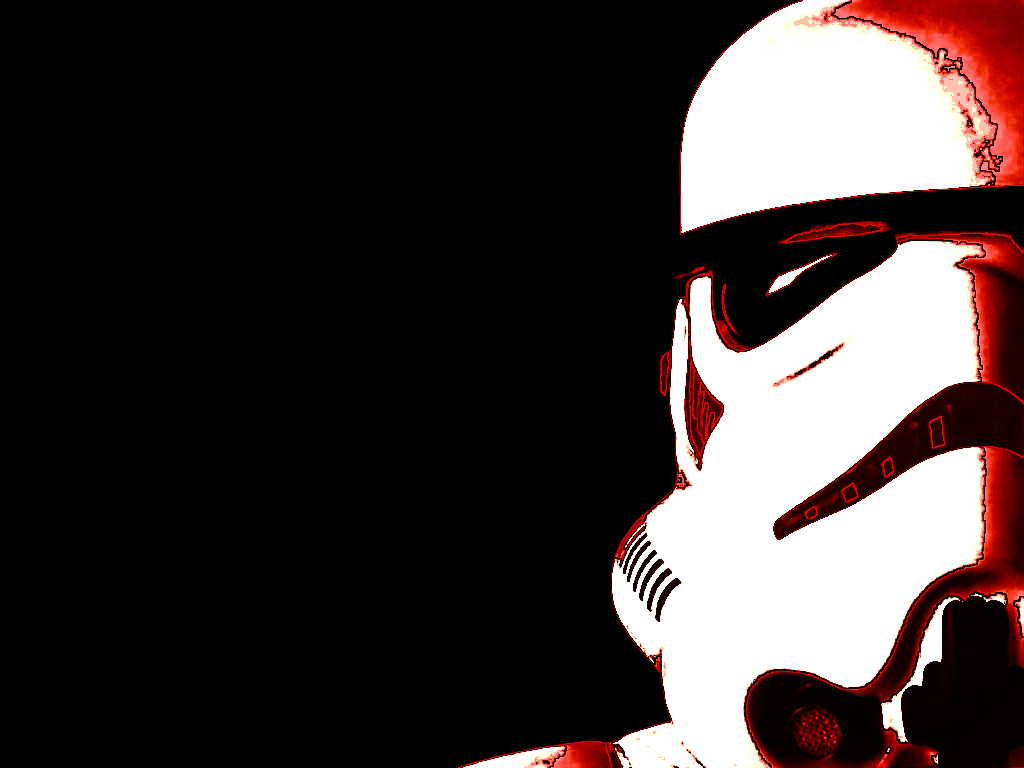 stormtroopers black background HD Wallpaper