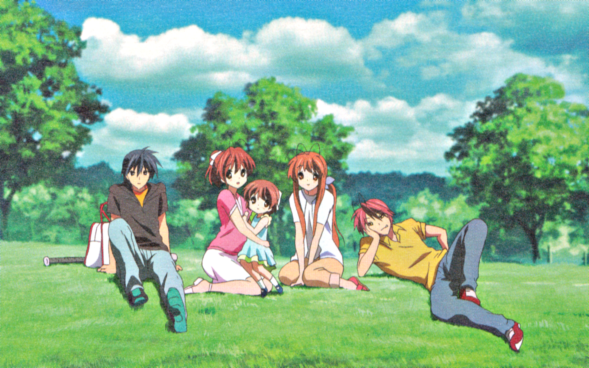 story Anime Clannad after HD Wallpaper