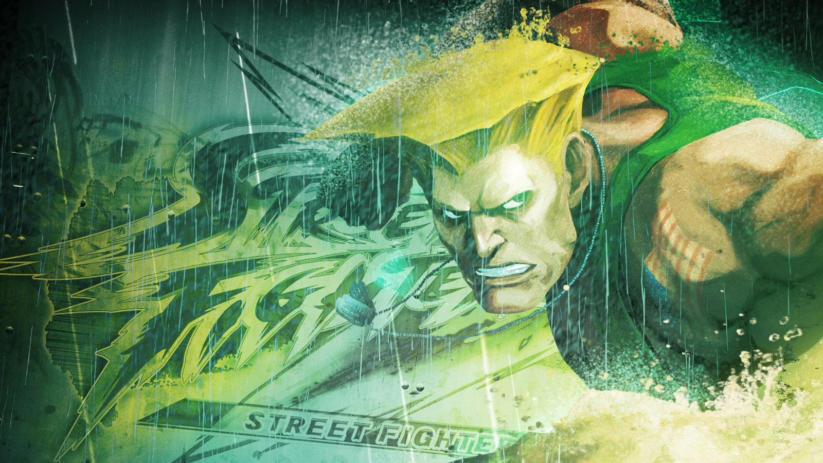 street fighter guile HD Wallpaper