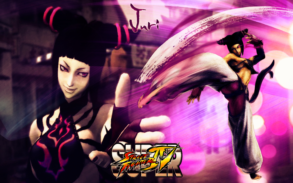 street fighter Juri HD Wallpaper