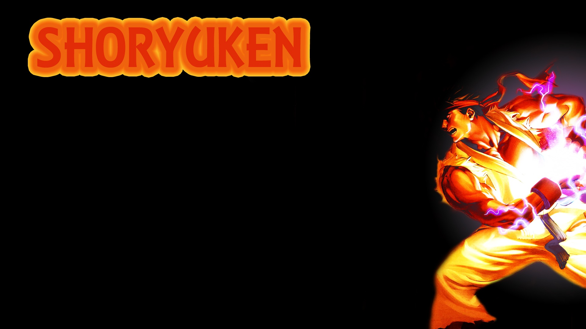 street fighter ryu hadouken