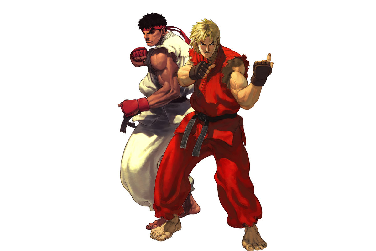 Street Fighter Ryu Ken