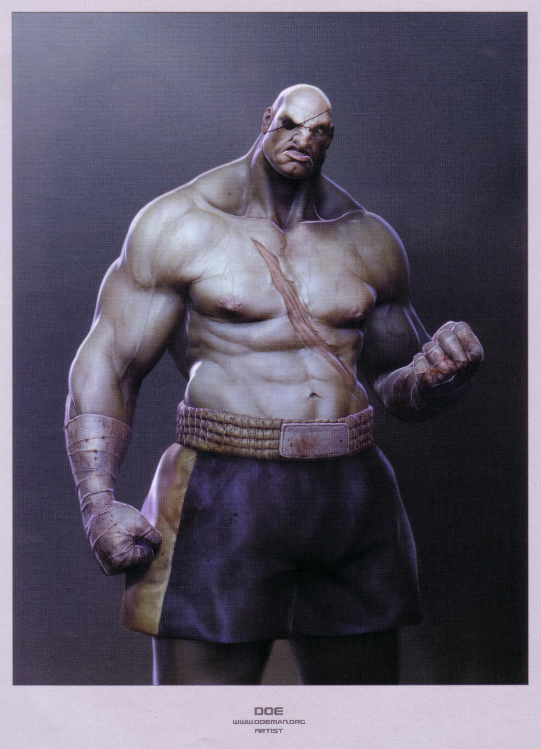 Street Fighter Sagat HD Wallpaper