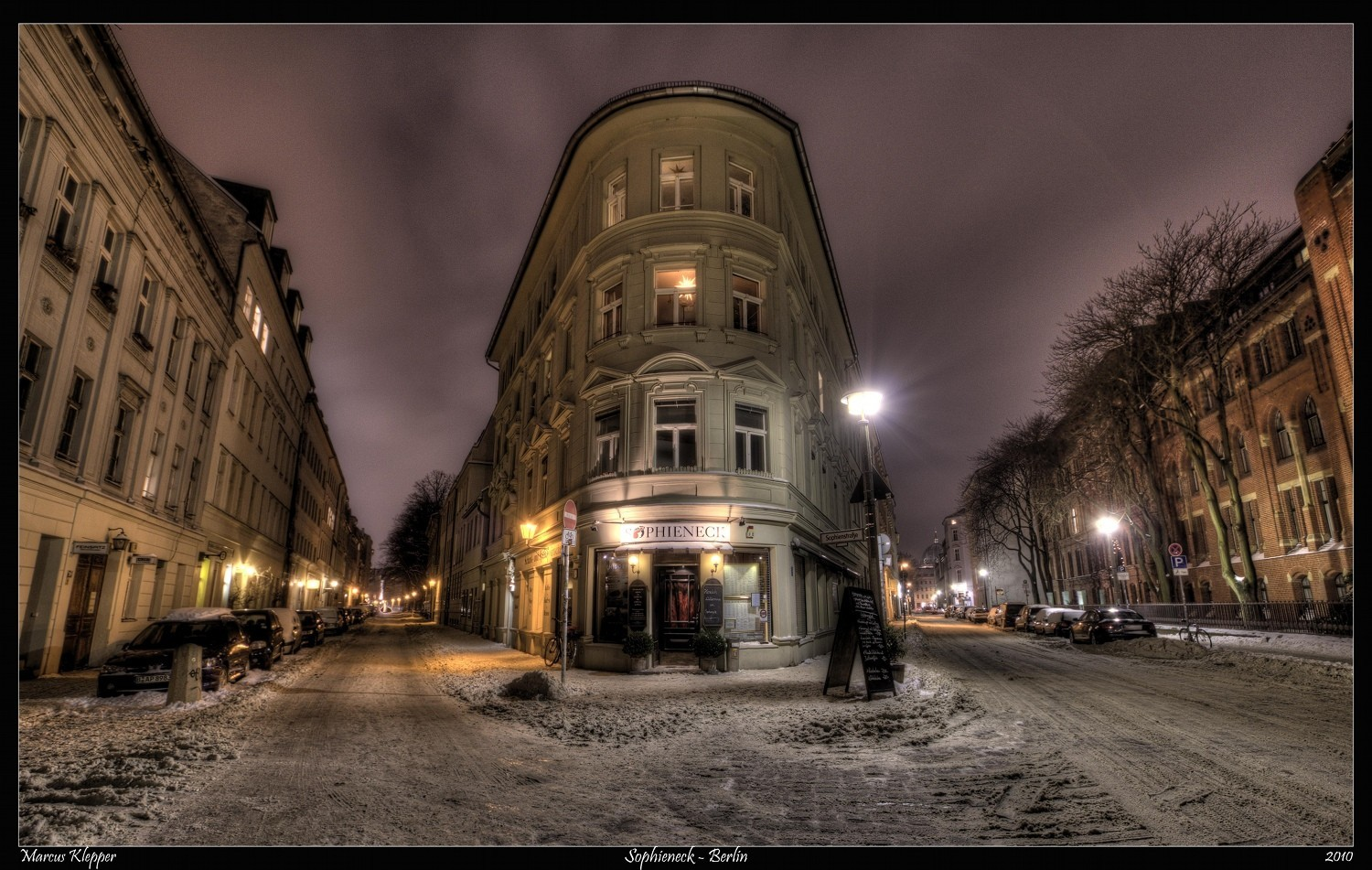 streets Berlin HDR Photography HD Wallpaper