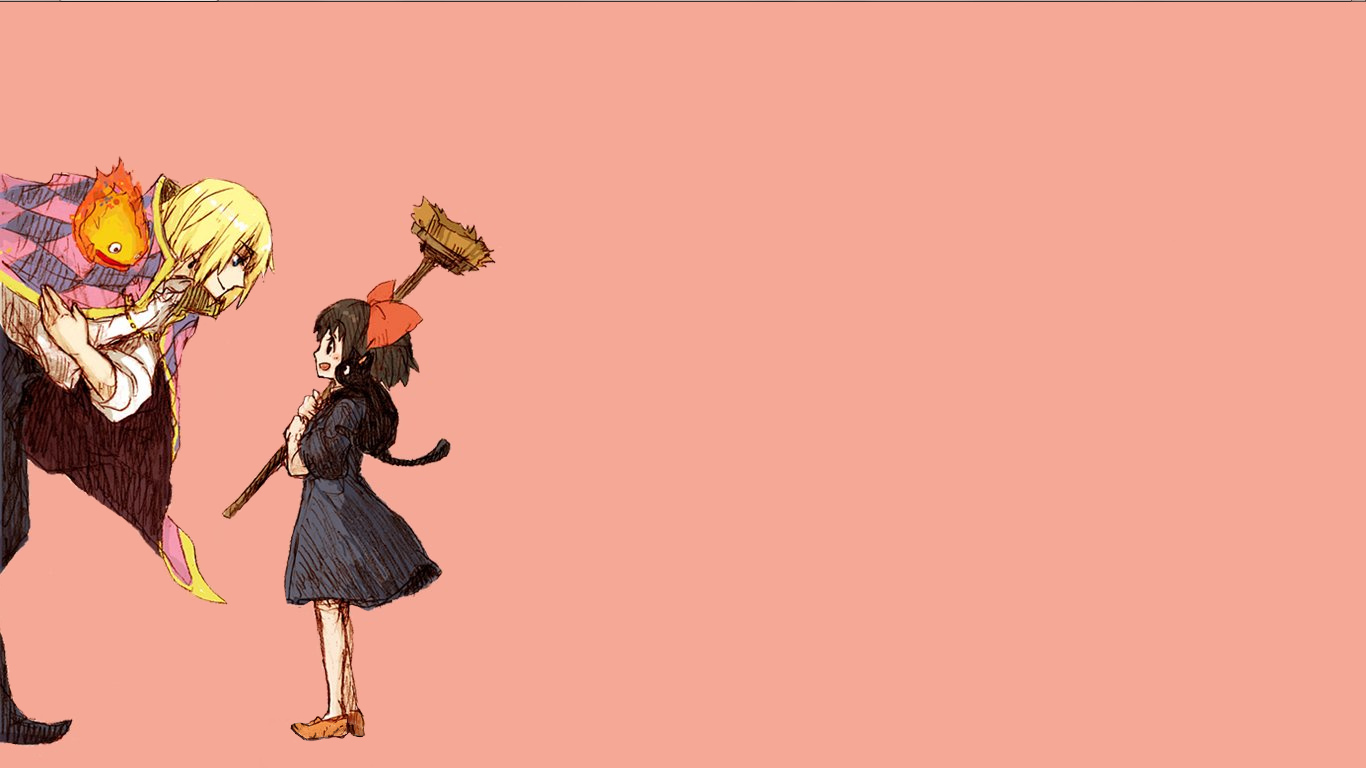 studio ghibli Howl's Moving HD Wallpaper