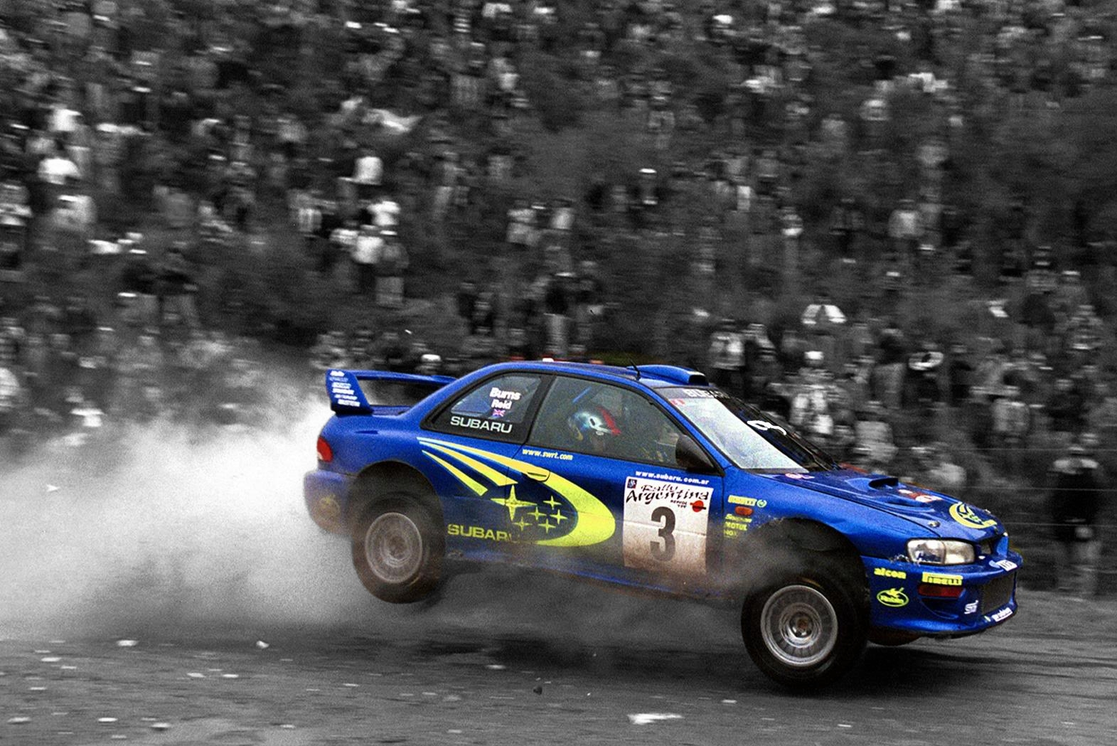 subaru impreza rally cars HD Wallpaper