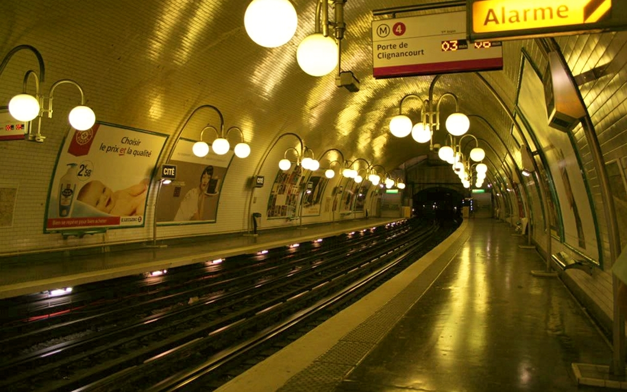 subway train stations HD Wallpaper