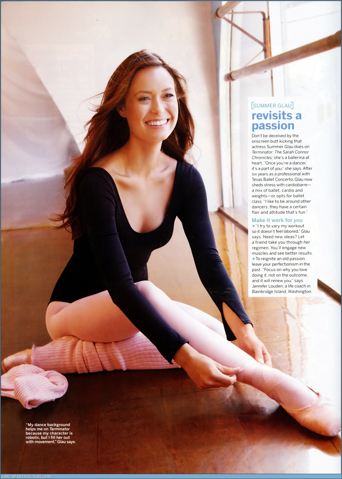 summer glau ballet HD Wallpaper