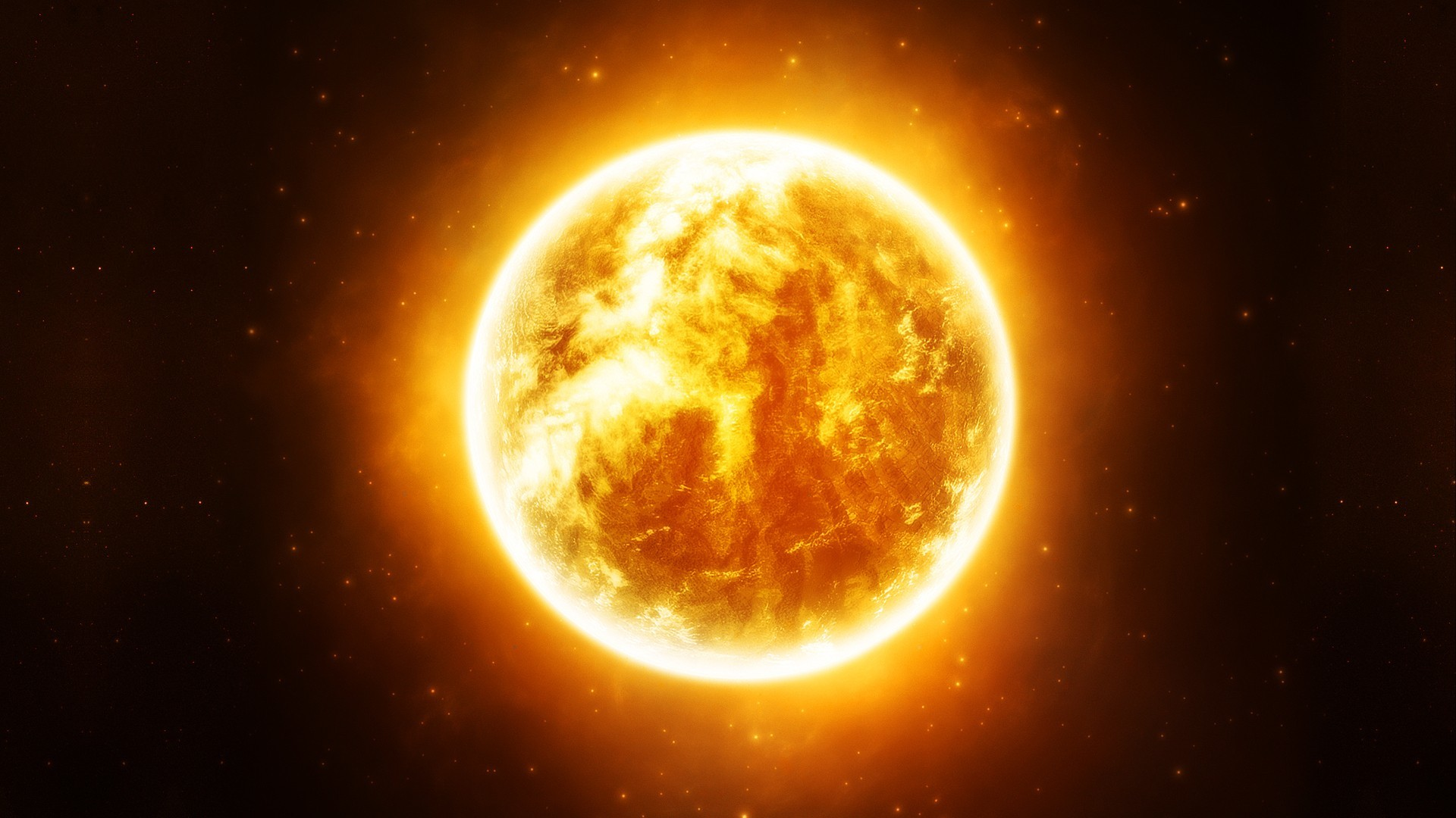 sun outer space Stars HD Wallpaper