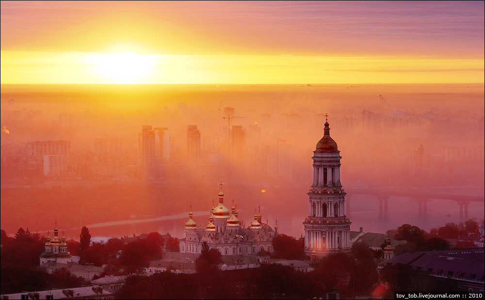 sunset Ukraine HD Wallpaper