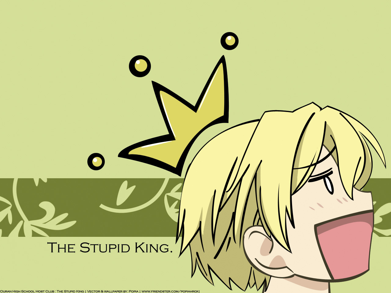 suou tamaki king ouran HD Wallpaper