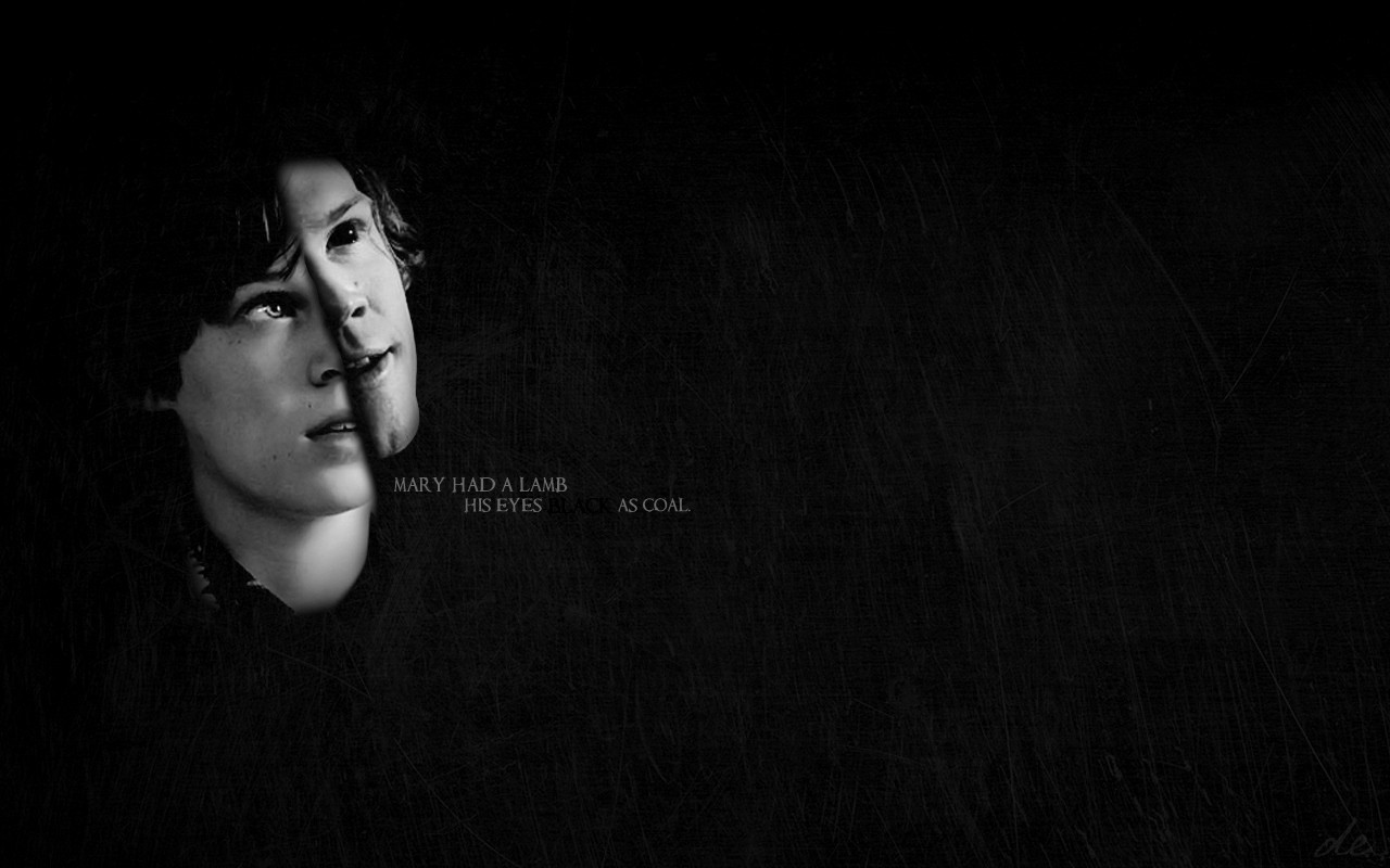 Supernatural text sam winchester HD Wallpaper