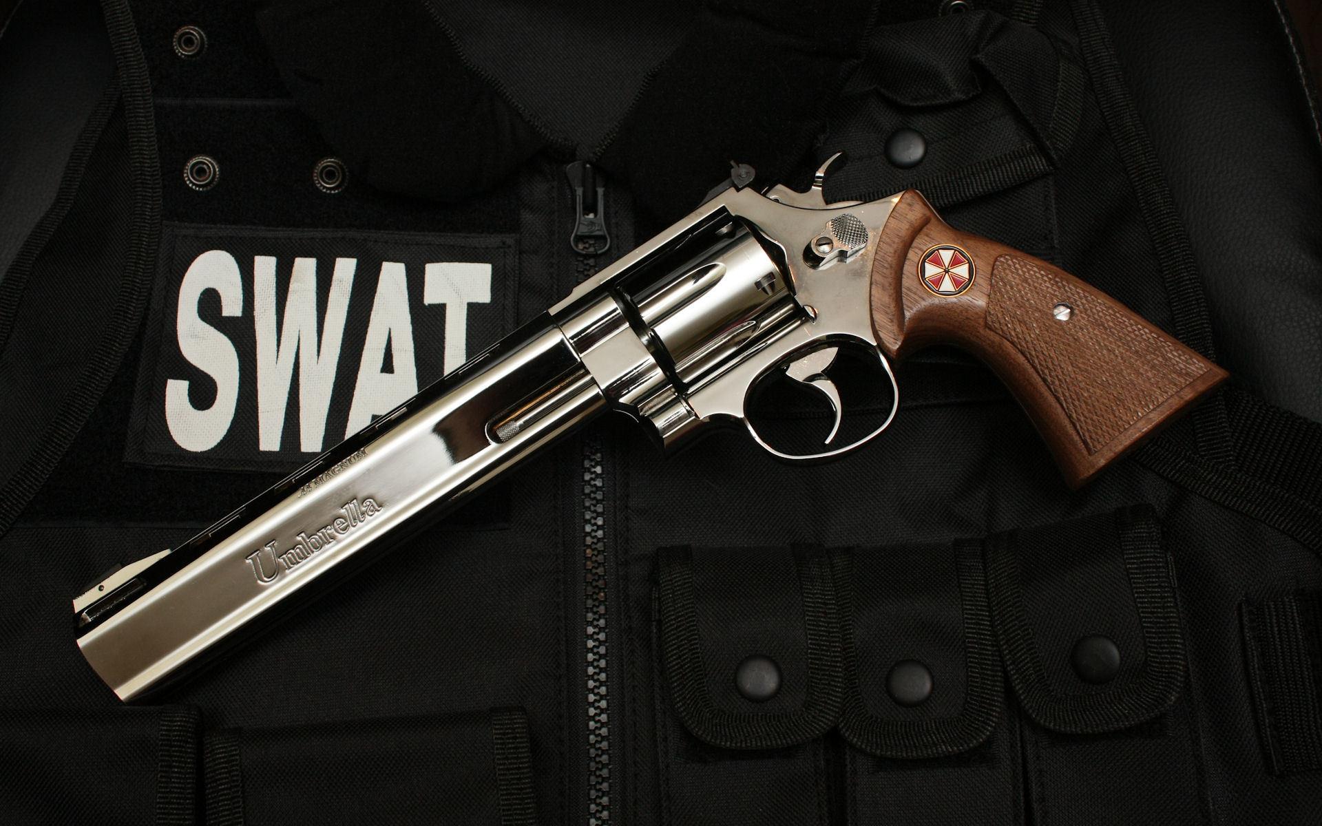 Swat Revolvers Weapons Umbrella
