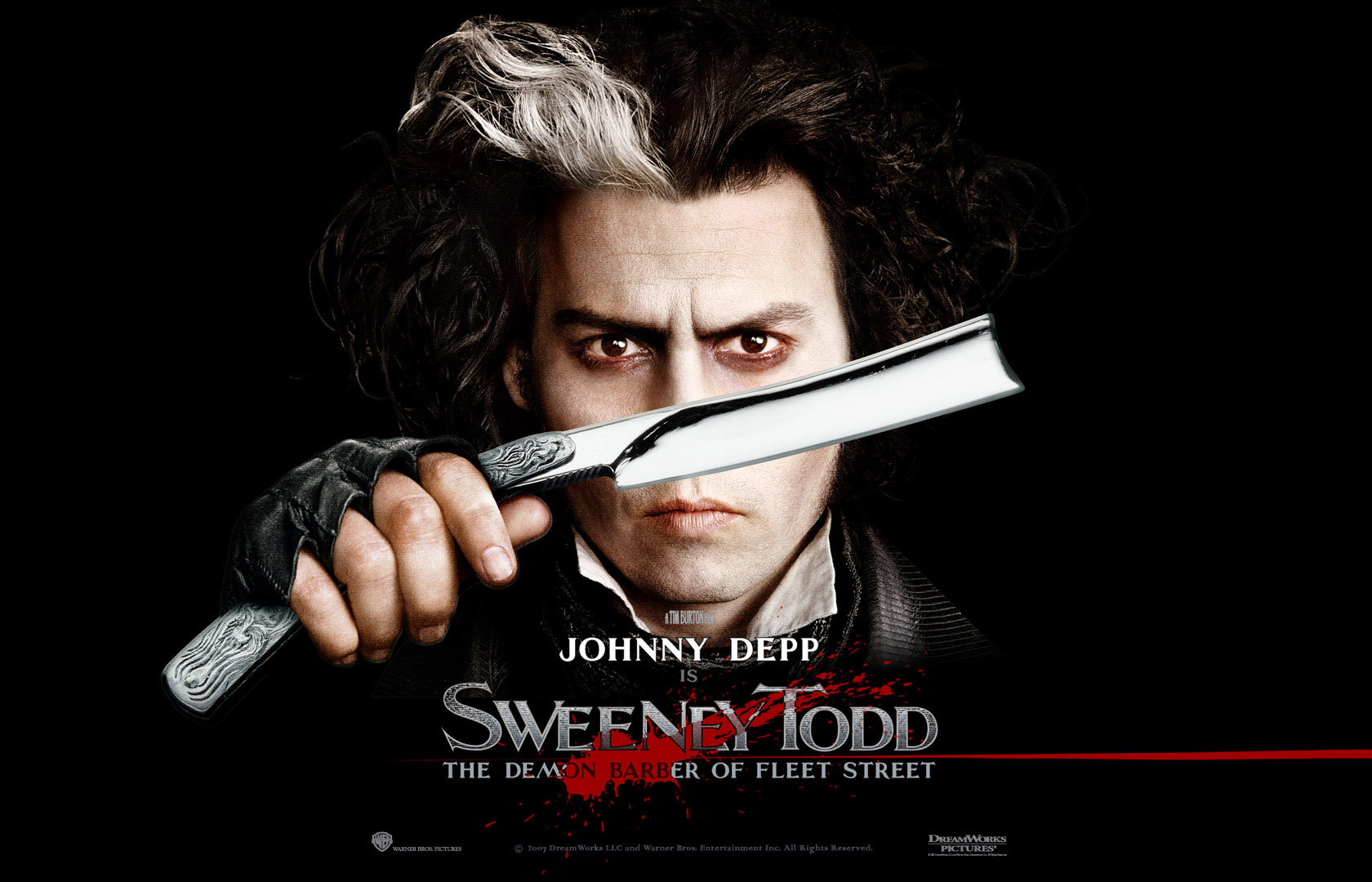 Sweeney Todd Johnny Depp