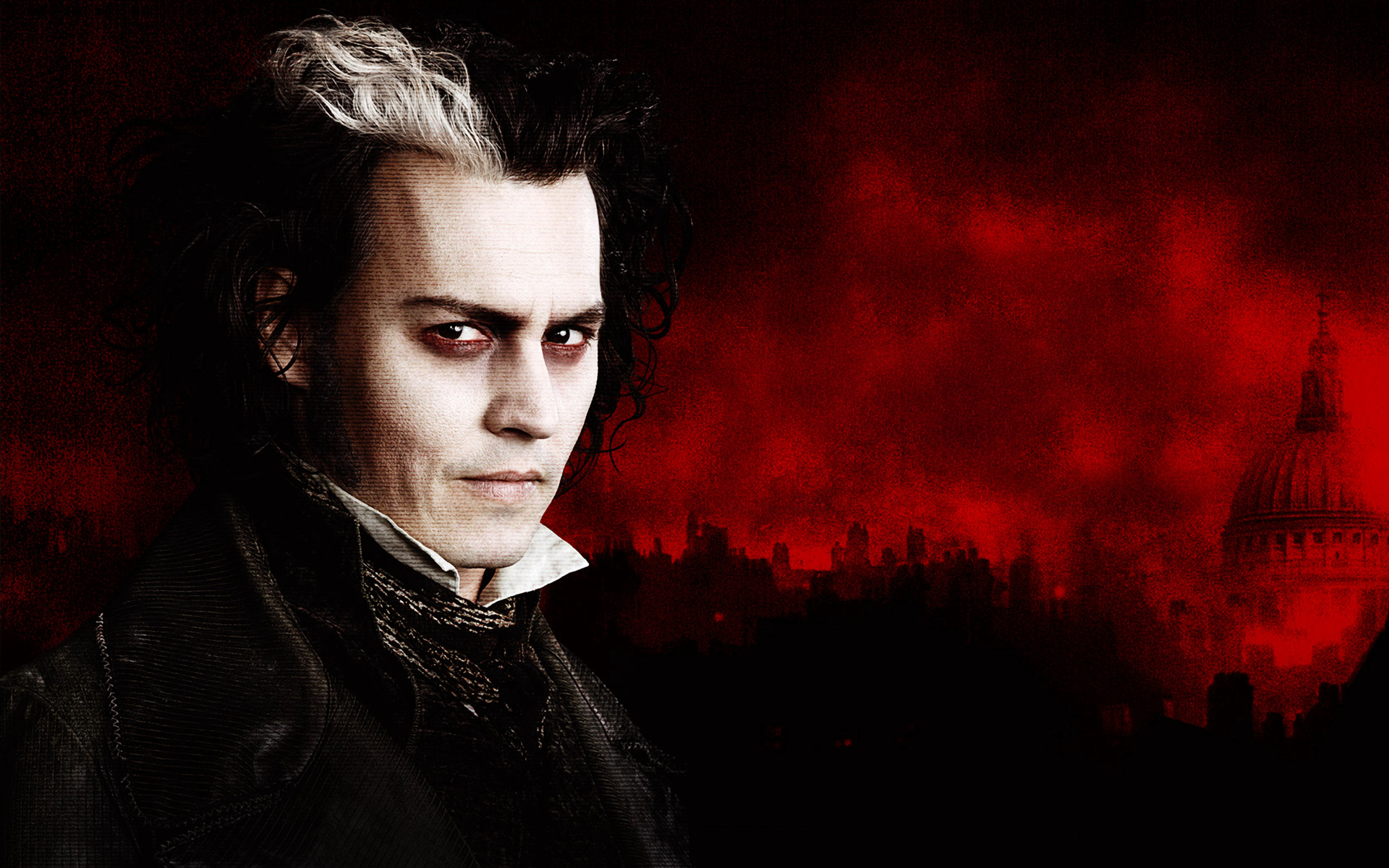 sweeney todd johnny depp HD Wallpaper