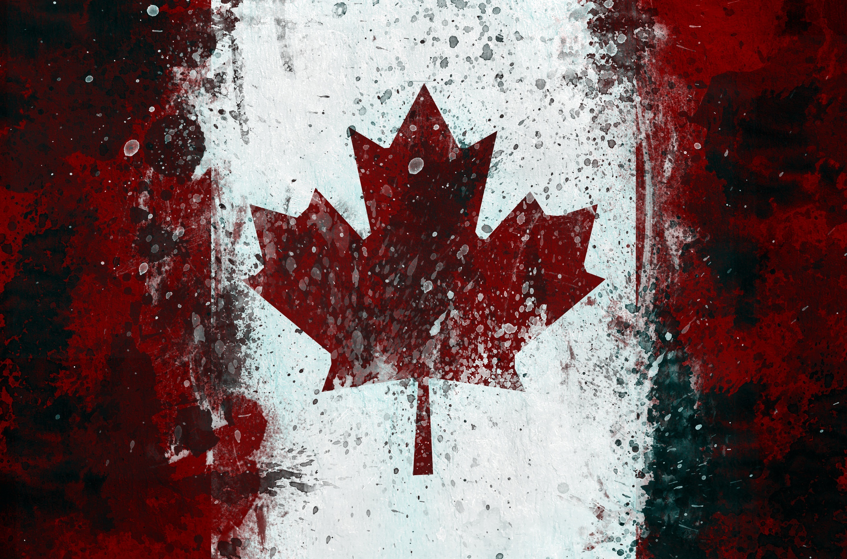 symbol Canada Flags Canadian HD Wallpaper