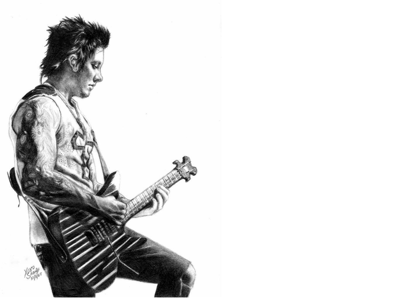 synyster gates by high HD Wallpaper