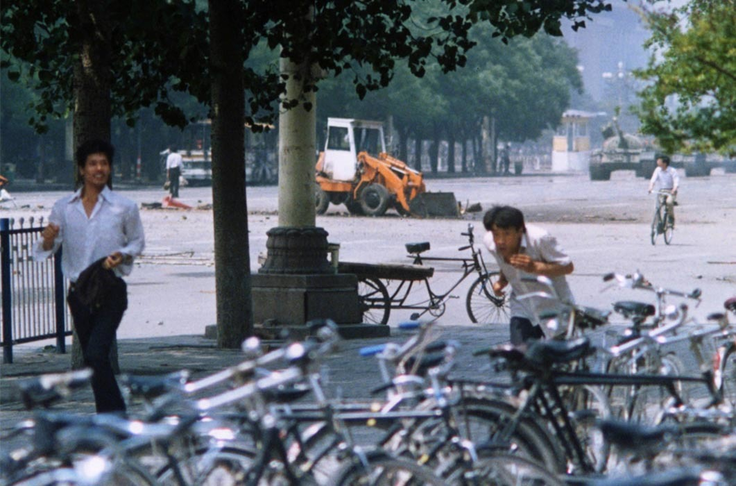 tank man from ground HD Wallpaper