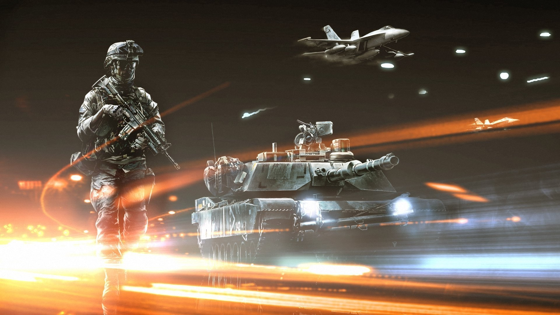 tanks Aircraft video games HD Wallpaper