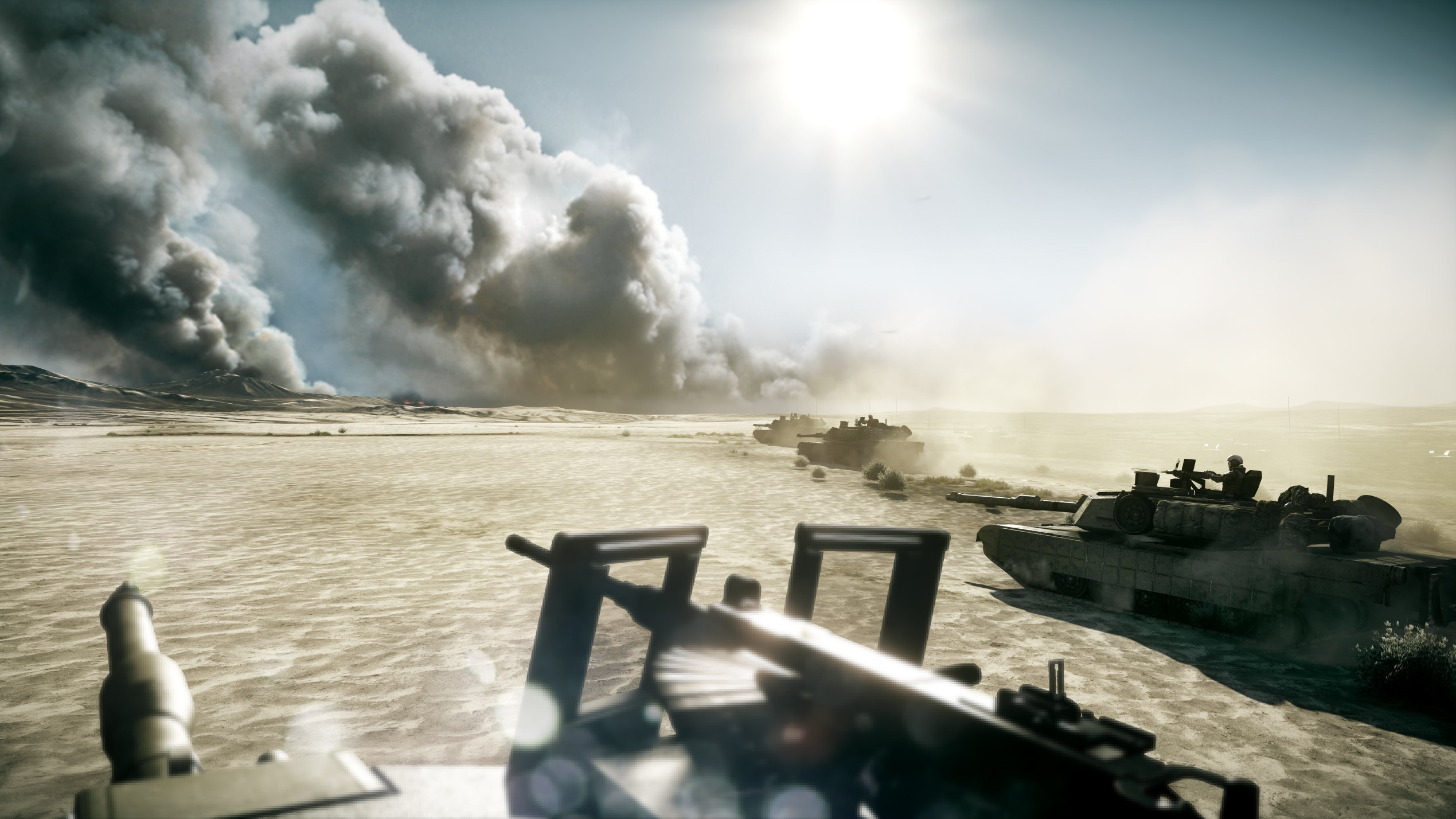 tanks battlefield 3 HD Wallpaper